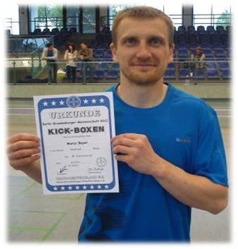 Berlin-Brandenburg-Meisterschaft 2012 -3. Platz Marco