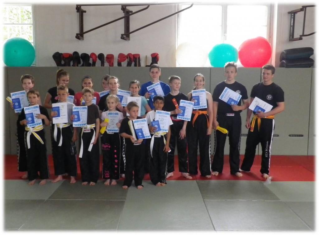 Jugend-Gürtelprüfung 2013